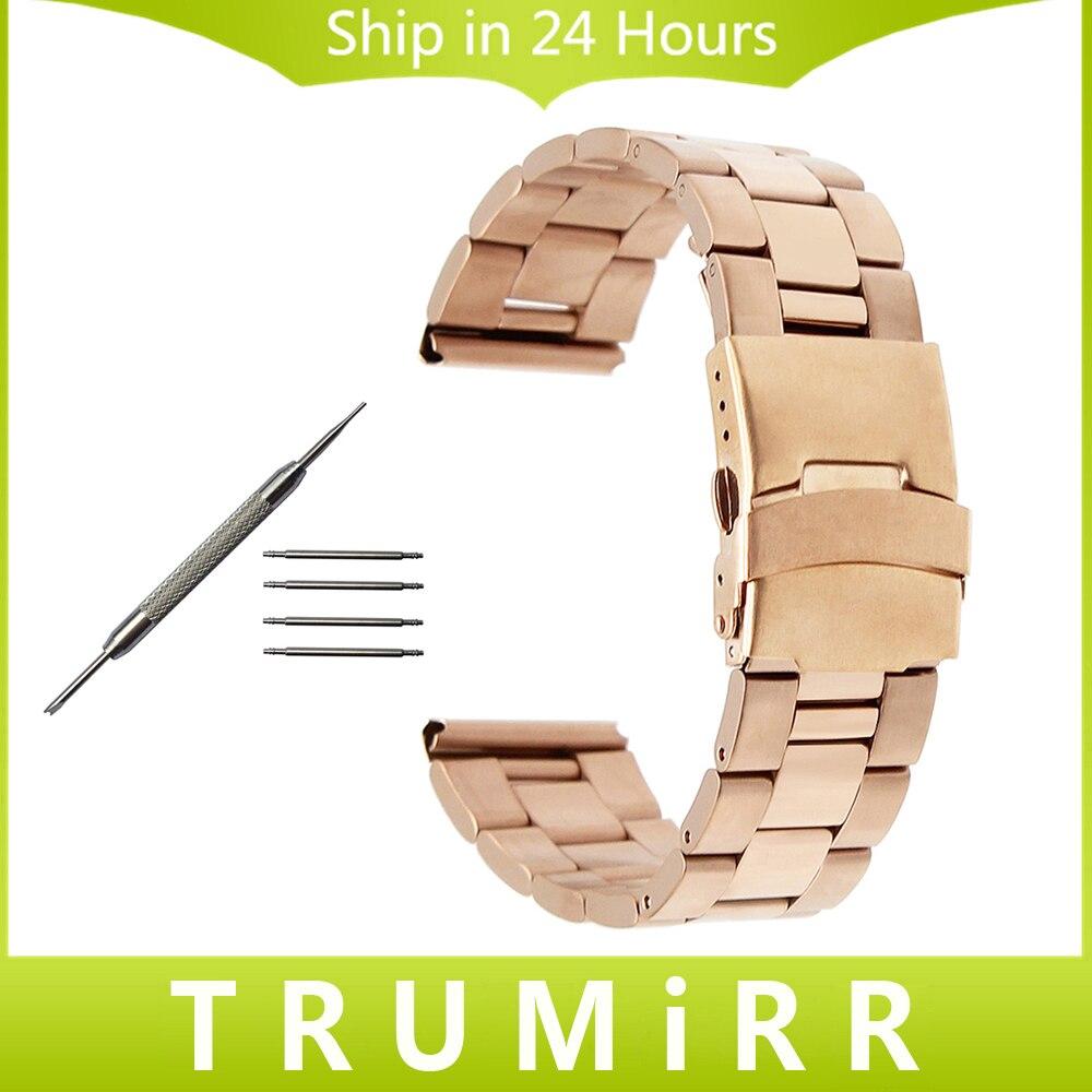 Stainless Steel Watchband for Oris Men Women Watch Band Safety Buckle Strap Wrist Bracelet Black Gold Silver 18mm 20mm 22mm 24mm