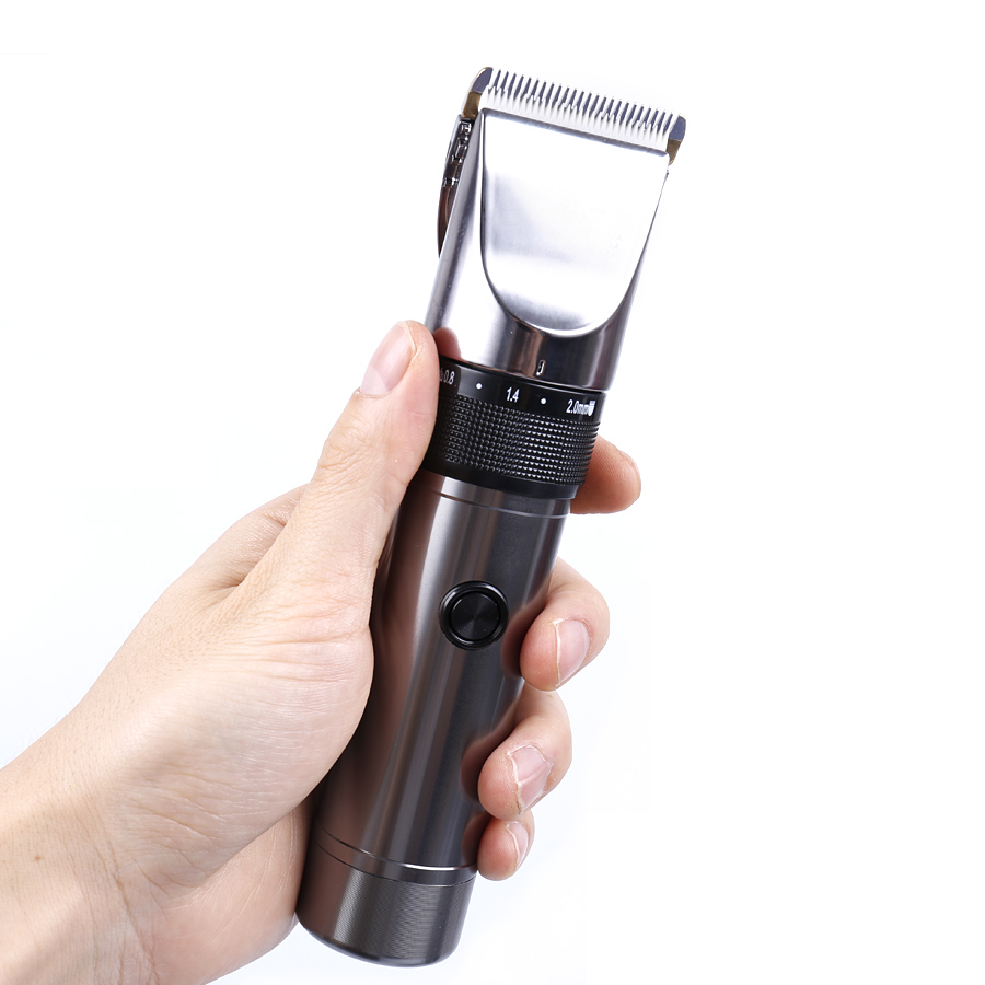 Professional Electric Cordless Hair Trimmer Rechargeable Hair Clipper Hair Cutter EU US  ...
