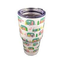 30 унций новая высокая бутылка для воды из нержавеющей стали Изолированная чашка для льда термос кружка термосы бутылка большой термос для путешествия кофейная кружка