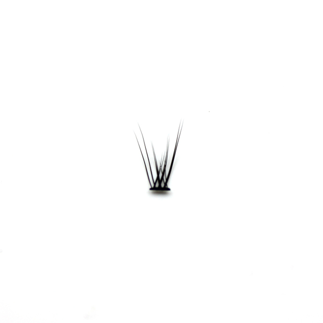 Professional silk eyelashes extension Fashion dovetail fly eyelash false eye lashes 3