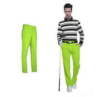 PGM Solid Golf Pants Trousers Mens Anti Slip Quick Dry Breathable Waterproof Sports Clothes Golf Clothing