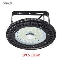 GERUITE 100W UFO Industry Lamp SMD 5730 LED Hall Light 220V 110V Mining High Bay Lights