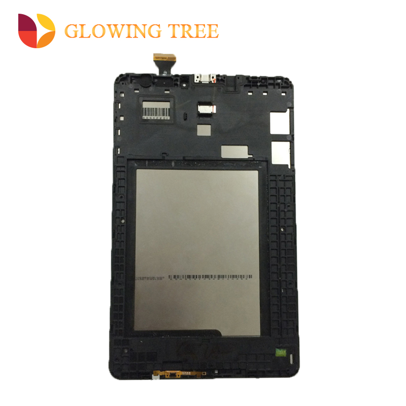 For Samsung Galaxy Tab E 9.6 T560 T561 SM-T560 SM-T561 Touch Screen Digitizer Sensor Glass + LCD Display Monitor Assembly Frame srjtek 9 6 for samsung galaxy tab e 9 6 sm t560 t560 t561 lcd display touch screen digitizer matrix tablet pc assembly parts