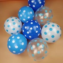 NASTASIA 12 дюймов в горошек латексный воздушный шар для свадьбы, дня рождения, вечеринки, украшения сада 25 шт./партия
