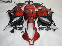 Wotefusi Full Fairing Kit UV Paint Bodywork Fairing Injection For Honda CBR600RR F5 2009 2012 10 11 (15) [CK1093]