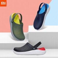 Xiaomi youpin aishoes verão praia caverna sapatos respirável e hidrofóbico macio e confortável um sapato duas maneiras de usar Controle remoto inteligente    -