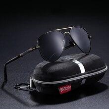 BARCUR Polarized Mens Sunglasses Pilot Sun glasses for Men a