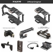 Tilta TA-T01-A-G полный клетки для камеры все аксессуары для BMPCC 4 K камера с верхней ручкой деревянная боковая ручка F970 Пластина батареи