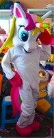 Новый стиль Пони костюм талисмана Летающий костюм коня маскота радуга Пони нарядное платье костюм для взрослых животных Хэллоуин Вечерние