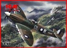 ICM model 48067 1 48 Spitfire Mk VIII WWII British Fighter plastic model kit