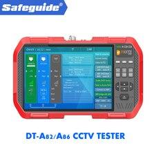 2019 DT-A82/A86 H.265 4 K сетевой HD IP TVI CVI AHD CVBS CCTV камеры тестер монитор + TDR кабель Тесты + мультиметр + измеритель мощности лазера