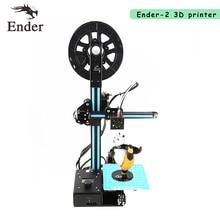 2017 Лидер продаж Ender-2 3D принтер DIY Kit металлический каркас машины RepRap Prusa i3 мини 3D принтер с нити 8 г SD карта в подарок