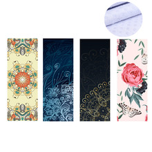 Yoga Towel Microfiber Quick Dry Silica Gel Non-slip 183*65cm Blanket Mat Pilates Fitness Exercise Cover