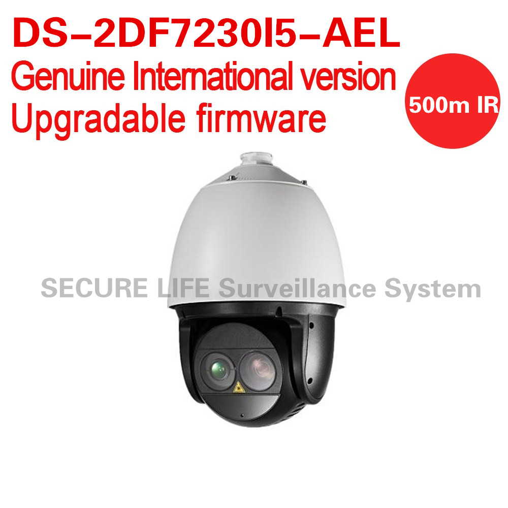 DS-2DF7230I5-AEL English version 2MP 30X Network Laser PTZ Dome Camera smart tracking 30X optical zoom 500m IR IP67 IK10 ds 2df8336iv ael english version 3mp high frame rate smart ptz camera 120db true wdr 36x optical zoom speed dome camera