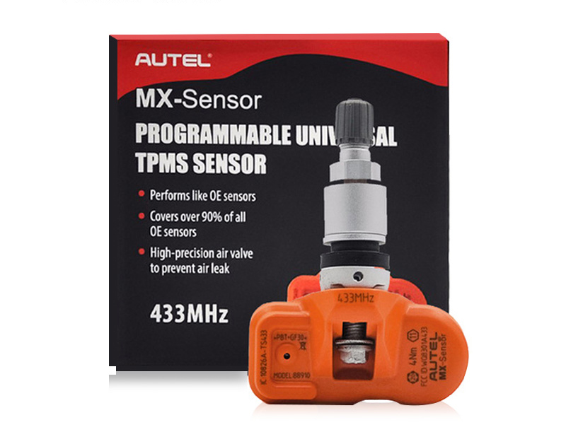 Image 3 - Autel MX sensor 315MHz 433MHz Tyre Pressure Sensor Programmable For Tire Pressure Universal TPMS Sensor MX Sensor Clone Learn-in Pressure & Vacuum Testers from Automobiles & Motorcycles