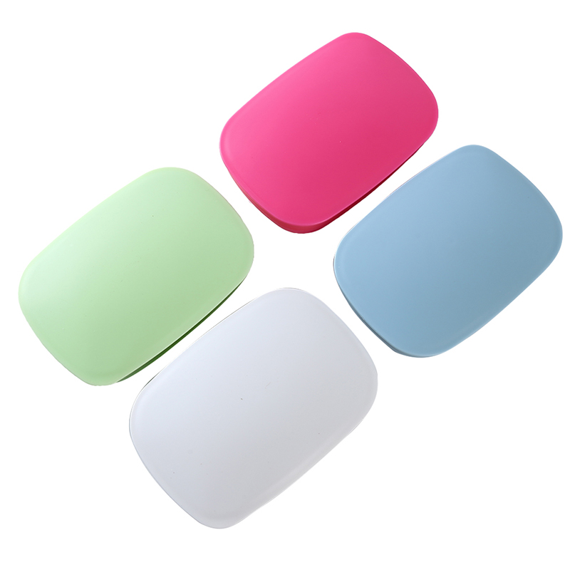 Portable Soap Box With Lid Bathroom Hotel Travel Soap Holder Soap Savers Case Bathroom Products