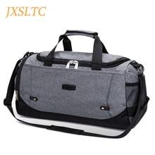 Jxsltc мужские сумки, сумки для путешествий, дорожная сумка, большая нейлоновая вместительная сумка для выходных, женские многофункциональные дорожные сумки