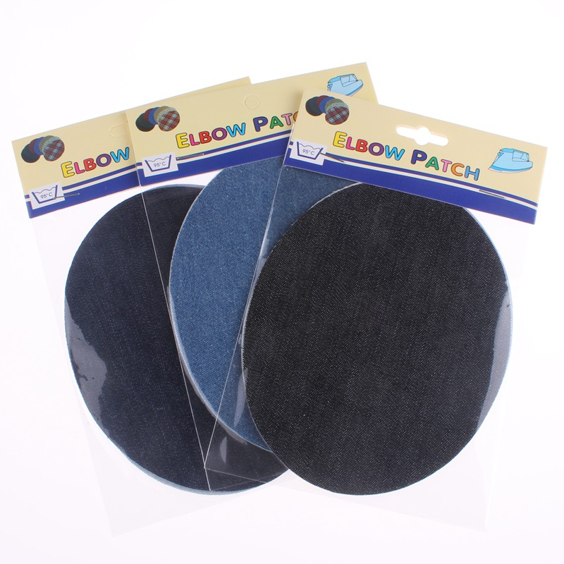 3 Colors Elbow Patch Jeans ⊱ Iron Iron On Patches For ヾ