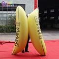 Personallized luftdichten 2 m aufblasbare banana  PVC material banane ballon für party events aufblasbare spielzeug|Aufblasbare Hüpfburg|   -