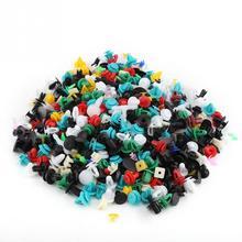 500 pcs 30 Tamanhos Assorted Plástico Guarnição Da Porta de Carro Clipe Bumper Fastener Retentor Rivet Push Pin Kit Car Moulding Clipe painel de Retenção