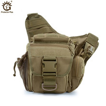 Tactical Waist Pack Camouflage Casual Shoulder Bag MilitaryTactical Saddle Bags Oxford Men Messenger Waterproof Molle