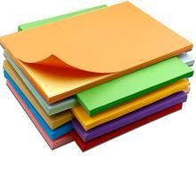 Pegatina coloreada autoadhesiva A4 para impresión de inyección de tinta o impresión láser, papel de escritura impermeable, suministros escolares y de oficina, 50 hojas