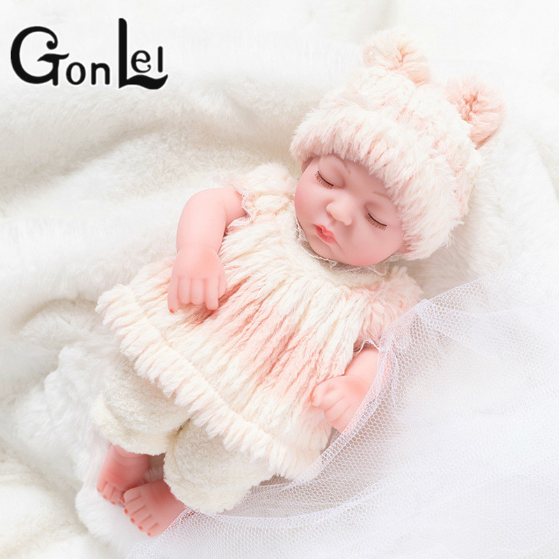 Hot Sale Realistic Reborn Baby Doll Soft Silicone Stuffed Lifelike Baby Doll Toy Ethnic Doll For Kids Birthday Christmas Gifts(China)