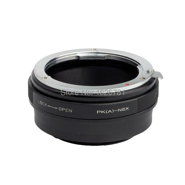 Adjuste Aperture Lens Adapter Suit For Pentax (A) -NEX to Sony E Mount NEX For A7s A5000 A3000 NEX-5R NEX-F3 NEX-EA50 FS700