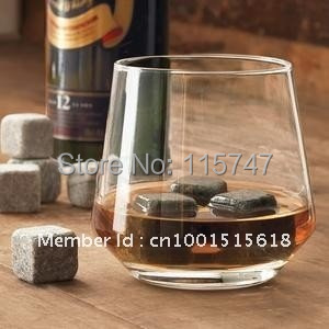 FREE SHIPPING! Whisky stone 9pcs set + velvet bag, 20sets/lot whiskey stones, whisky rocks, wine stone Christmas business gift