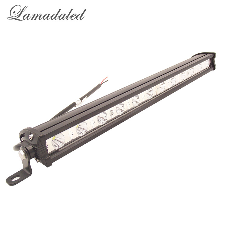 Lamadaled vehicle 36w led work light bar ATV off road 13inch spot lamp for 4x4 Offroad SUV Car Truck Trailer Tractor UTV