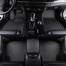 Kalaisike Personalizado esteras del piso del coche para BMW todos los modelos X3 X1 X4 X5 X6 Z4 525 520 f10 f30 e46 e90 e60 e39 e83 e84 car styling