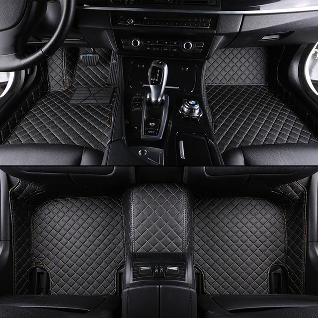 kalaisike Custom car floor mats for BMW all model X3 X1 X4 X5 X6 Z4 525 520 f30 f10 e46 e90 e60 e39 e84 e83 car styling