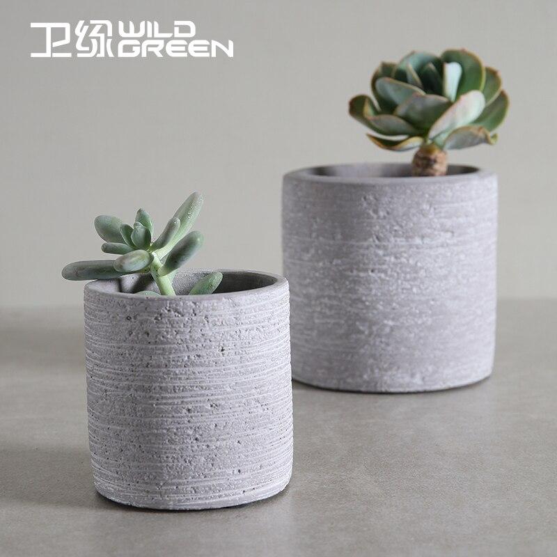Decorative Indoor Flower Pots #15: Stone Decorative Indoor Flower Pots