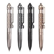 Hot Sale Tactical Pen Aluminum Alloy Camping Survival Emergency for Outdoor Personal Security Black Silver Gold Grey Lightweight