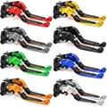 For Triumph TIGER 800 XC/XCX/XR/XRX 2015-2016 Foldable Extendable Brake Clutch Levers Motorcycle Accessories Folding&Extending