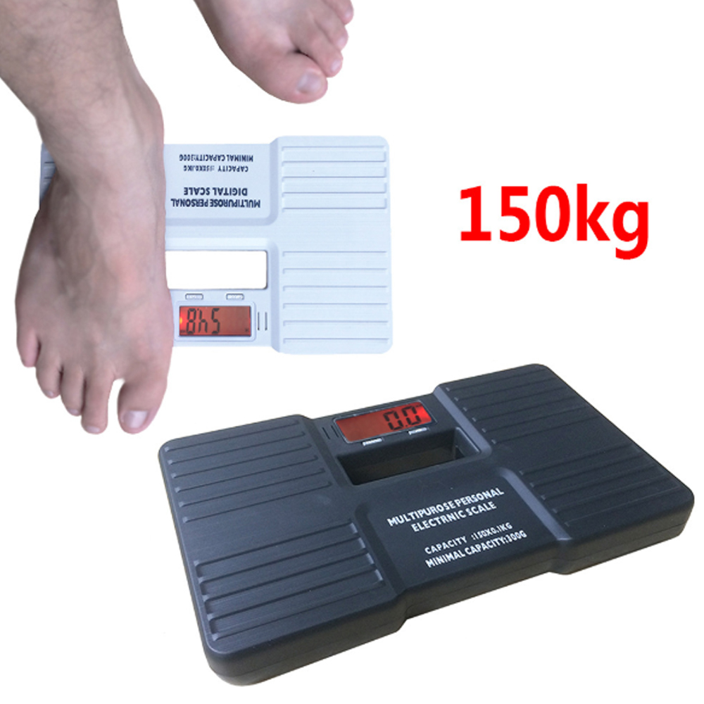 150KG 0.1kg Digital Personal Scales Precision Electronic Bathroom Human Body Floor Scale Portable Body Health Weighing Balance