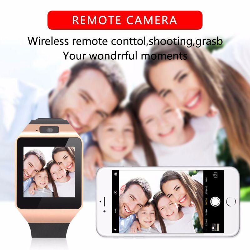 Smart Watch DZ09 Smart Clock Support TF SIM Camera Men Women Sport Bluetooth Wristwatch For Samsung Huawei Xiaomi Android Phone