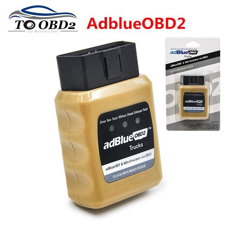 AdBlue Emulator NOX Emulation AdblueOBD2 Plug&Drive Ready Device Adblue OBD2 For IVECO/VOLVO/DAF/MAN Truck Heavy Duty