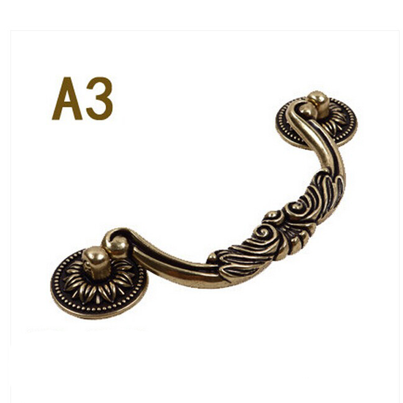 CC.128mm Decorative Vintage Furniture Pull Handle Cupboard Knob Bronze Drawer Cabinet Wardrobe Closet door Handles vintage metal refine 40mm furniture knob cabinet knob drawer pull cabinet furniture drawer wardrobe door handle mol 35