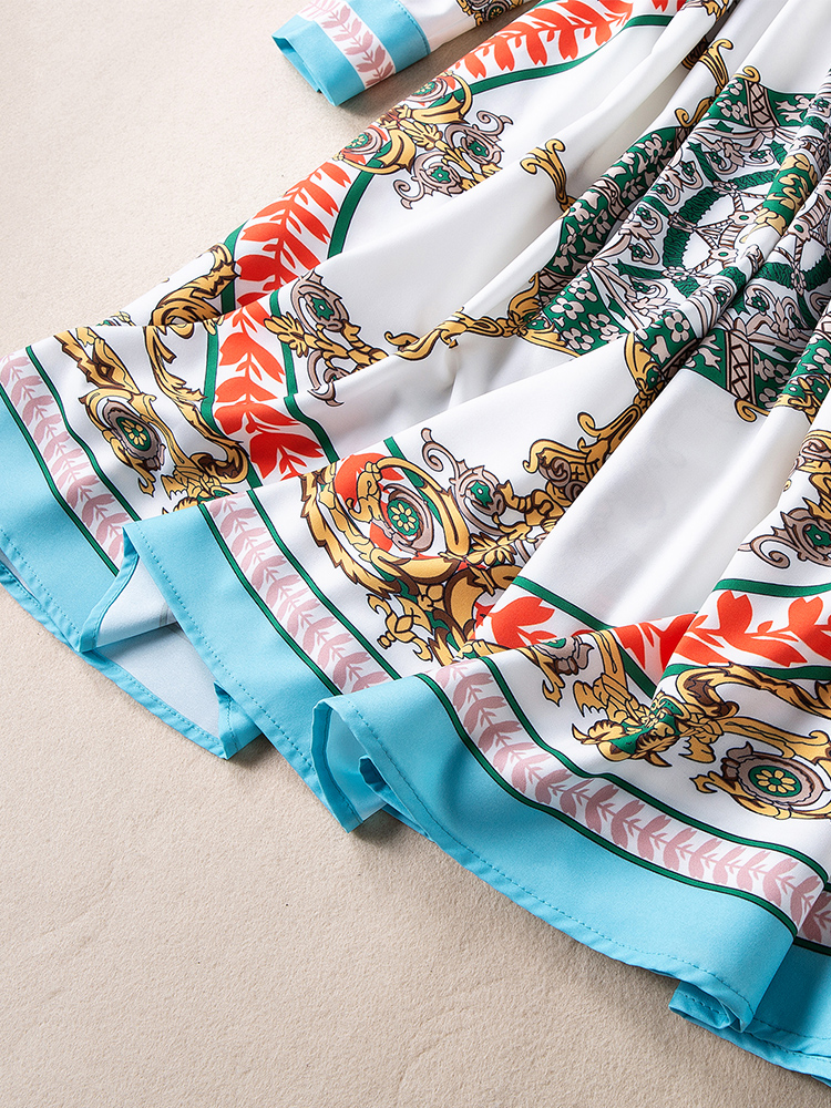Marque Mode Printemps Européenne De Style Ws03487 Femmes 2019 Luxe Supérieure Robe Qualité Design Partie Nouvelle sQdCthr