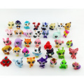 20pcs/set LPS Little Pet Shop Toys Littlest Cartoon Animal Cute Cat Dog Loose Action Figures Collection Kids Gifts