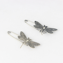 10pcs Kilt Scarf Shawl Strong Metal Large Safety Dragonfly Brooch Pin Skirt Knitted 50mm