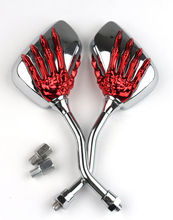 2 шт. пара зеркал для мотоцикла, скутера, электровелосипеда, заднего вида, с выпуклой задней стенкой, 8 10 мм, 10,5 см x 7 см