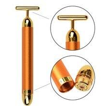 24k Gold Vibration Facial Massager Lift Skin Tightening