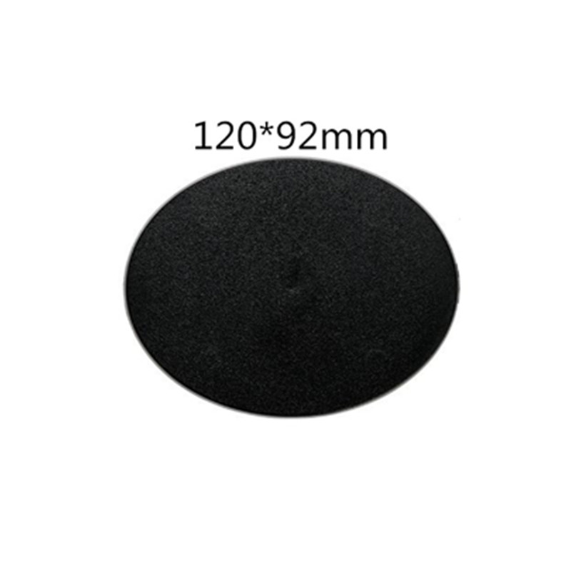 1pcs Of 120x92m Oval Base  Model Plastic Bases For Games