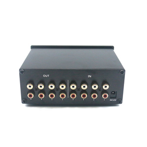 Image 2 - 4 קלט 4 פלט Lossless אודיו אות Switcher מתג ספליטר בורר DC 12V