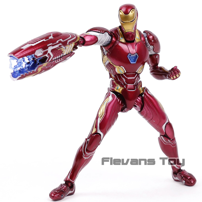 SHFiguarts Avengers Infinity War Iron Man MK 50 PVC Action Figure Model Toy
