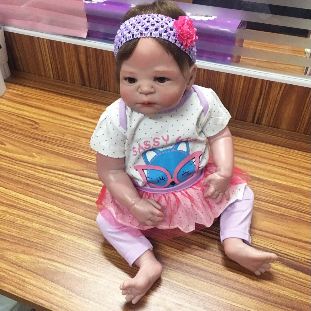 57 cm Red Skin Silicone Reborn Babies Realistic KEIUMI 23 Inch Full Body Vinyl Baby Doll Reborn For Kids DIY Toys Reborn Menina keiumi 23 reborn babies doll full body silicone vinyl fashion diy toy for girl realistic princess 57 cm children s day gifts