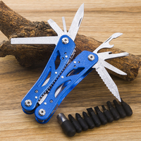 Multifunctional tool pliers folding knife survival outdoor multi purpose Folding Multi Pliers camping tool with knife scissors