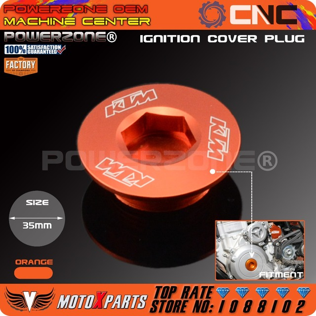 Engine Ignition Cover Plug For KTM 250 350 450 505 450 SXF SMR EXCF XCW 690 990 1190 DUKE R SMC SMT SMR Superduke Adventure RC8